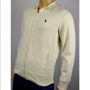 XL Polo- Full Zip knit Jacket